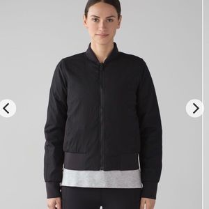 Lululemon Down and around Bomber jacket
